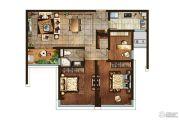 正荣润�o3室2厅1卫94平方米户型图