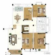 水岸帝景 高层2室2厅1卫82平方米户型图