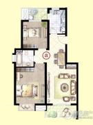 虹桥1号2室2厅1卫0平方米户型图