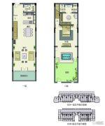 春晖园・随园1室2厅2卫164平方米户型图