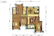 合能铂悦府4室2厅2卫142平方米户型图