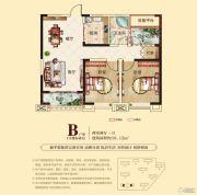 合肥铜冠花园2室2厅1卫91平方米户型图