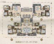 珠光新城御景2期3室2厅2卫121--151平方米户型图