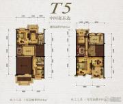保利天骄258平方米户型图