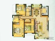 水绘绿源3室2厅2卫137平方米户型图