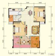 中盛・财富中心4室2厅1卫108平方米户型图