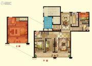 京都御府4室2厅3卫166平方米户型图