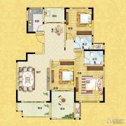 正商红河谷3室2厅2卫131平方米户型图