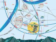 万科金色悦城城市之光交通图