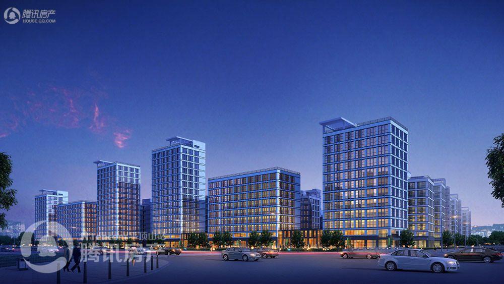 东方今典总部新城整体效果图