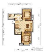宏发石榴2室2厅1卫66平方米户型图