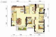 龙湖三千庭4室2厅2卫100平方米户型图