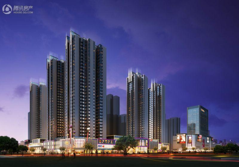 三丰·中心思想住宅、商业楼-效果图