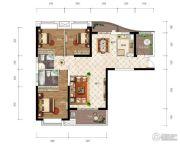 江南URD3室2厅2卫125平方米户型图