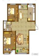 辰能溪树庭院(南区)3室2厅1卫0平方米户型图