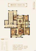万科・学院路七号4室2厅2卫128平方米户型图