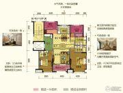 保利中央公园2室1厅3卫0平方米户型图