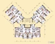 敏捷金月湾93--127平方米户型图