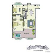春晖园・随园2室2厅2卫162平方米户型图