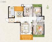 东宝康园3室2厅1卫106平方米户型图