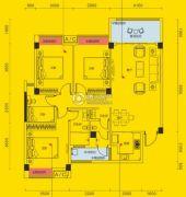 象山博望园4室2厅2卫0平方米户型图