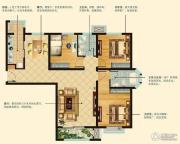 阳光首院3室2厅2卫123平方米户型图