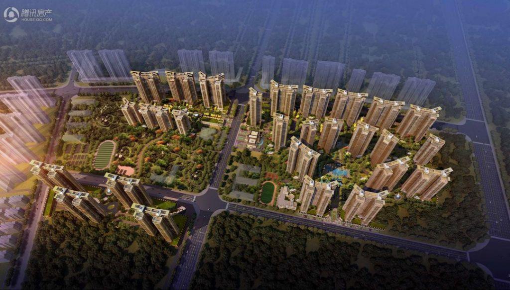 中洲天御建面93/122/134㎡2/4房产品计划下个月开盘