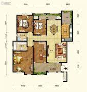 中交锦湾一期4室2厅2卫159平方米户型图