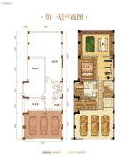 力帆红星国际广场紫檀庄园338--374平方米户型图