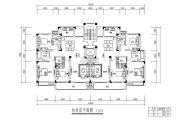 宇业天逸华府 高层3室2厅2卫128--129平方米户型图