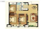 明发珠江国际2室2厅1卫92平方米户型图