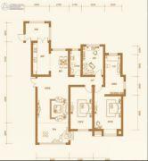 天鹅湾赫郡3室2厅2卫0平方米户型图