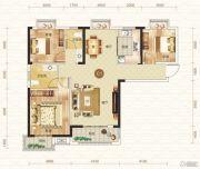 钓鱼台二期3室2厅2卫120平方米户型图