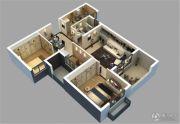 保利城2室2厅1卫92平方米户型图