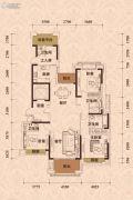 王府・钓鱼台4室2厅4卫170平方米户型图