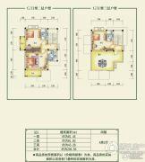 碧桂园清泉城206平方米户型图