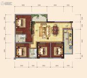 传化广场4室2厅2卫0平方米户型图
