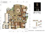 百川・润城5室2厅4卫0平方米户型图