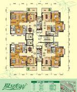 天鹅湾4室2厅2卫85--145平方米户型图