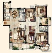中海凤凰熙岸・玺荟4室2厅2卫0平方米户型图