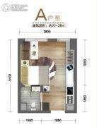 南湖时尚城1室0厅1卫22--28平方米户型图