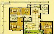 东岸国际3室2厅2卫218平方米户型图