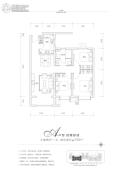 富力湾3室2厅1卫109平方米户型图