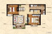 �Z储新和湾2室2厅1卫88平方米户型图