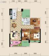 亿家龙景名都3室2厅2卫106平方米户型图