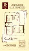 华溪龙城二期2室2厅1卫114平方米户型图