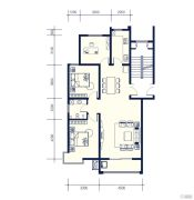 南辰雅园3室2厅1卫0平方米户型图
