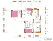 星湖湾4室2厅2卫125平方米户型图