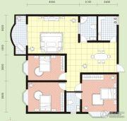 祥安花园3室2厅2卫132平方米户型图