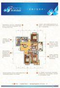 随州淅河水岸尚品3室2厅2卫129平方米户型图